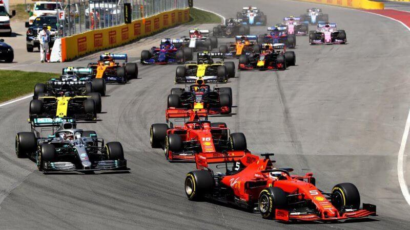 Formula One sports betting explained