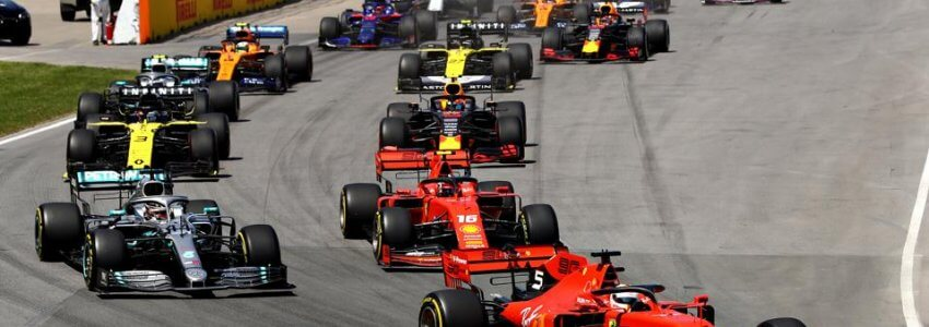Formula One sports betting explained