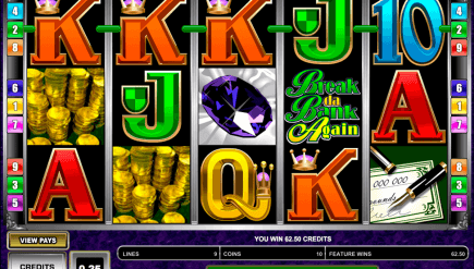 Break Da Bank 3 Reel Classic Slots Game