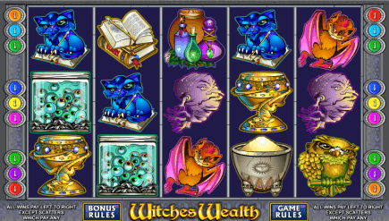 Witches Wealth Online Slot Game