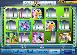 Alien Hunter Online Slots Overview
