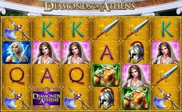 Diamonds of Athens Casino Slot Reviewed Online